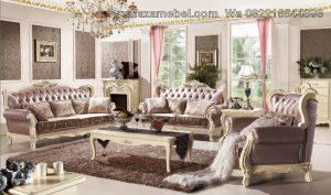 Sofa Set Luxury White