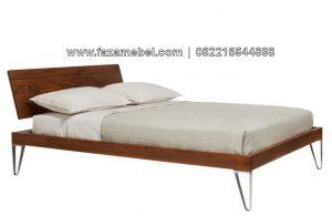 Tempat Tidur Minimalis Kaki Besi