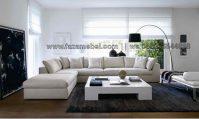 Set Sofa Tamu Minimalis Putih