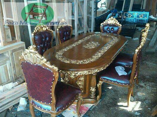 set-kursi-makan-ukir-k6