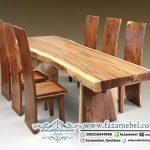 jual beli harga meja kayu trembesi suar Terbaru