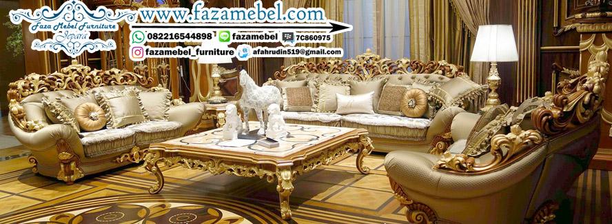 Best Produk Kursi Tamu Jati Ukir Mewah Klasik Royal