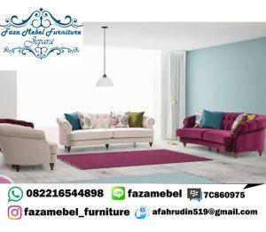 Set Sofa Tamu Mewah Jepara