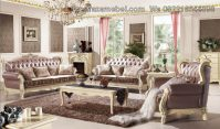 Sofa Set Luxury White