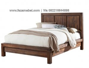 Tempat Tidur Minimalis Antik