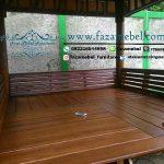 gazebo-kayu jati minimalis-berkualitas-mewah-dalam