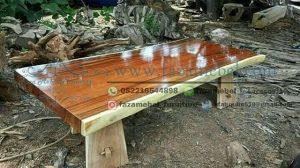 Trembesi Wood Dining Table
