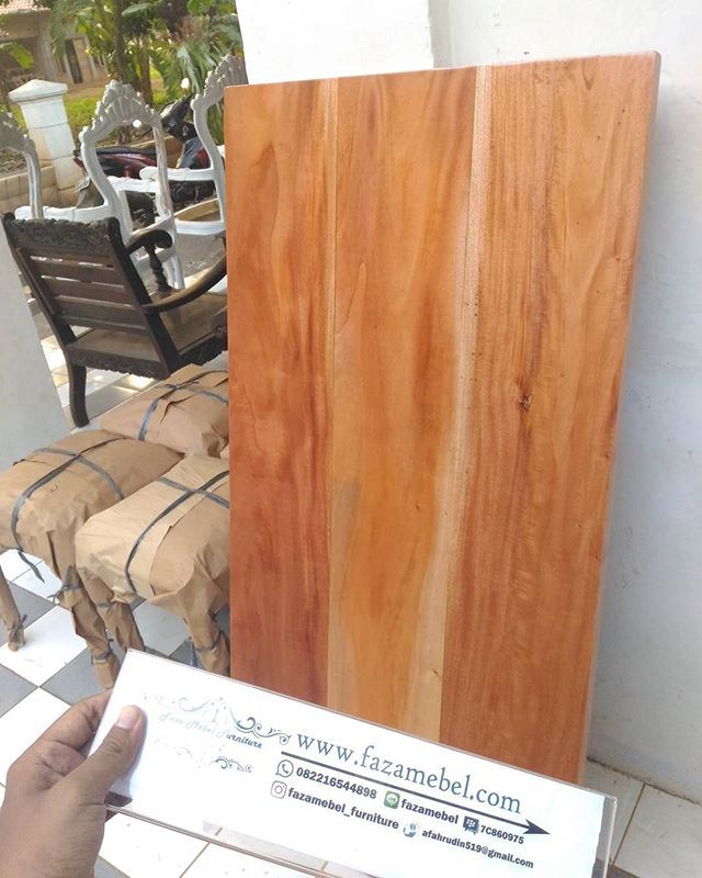 Top-Table-Kayu-Mahoni-Natural-Wood-terbaru