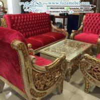 Kursi Sofa Tamu Mewah Raffi Ahmad