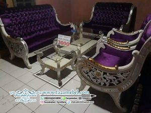 Kursi Tamu Mewah Raffi Ahmad Ukir