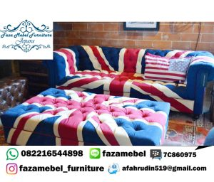Model Sofa Terbaru Chester Bendera Inggris