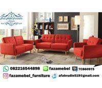 Set Kursi Sofa Tamu Mewah Minimalis Retro