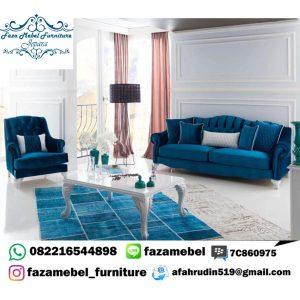 Set Sofa Tamu Minimalis Mewah Wing