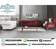 Set Sofa Tamu Mewah Chester
